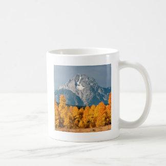 Parkera Moran i hösten Wyoming Kaffemugg