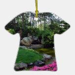 Parkera trädgården för blommar för fredkärlek den