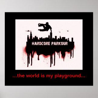 Parkour affisch