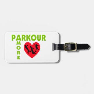 Parkour Amore med hjärta Bagagebricka