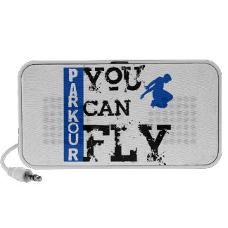 Parkour - du kan flyga minihögtalare
