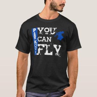 Parkour - du kan flyga t-shirt
