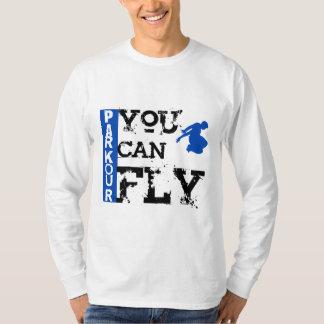 Parkour - du kan flyga t shirt