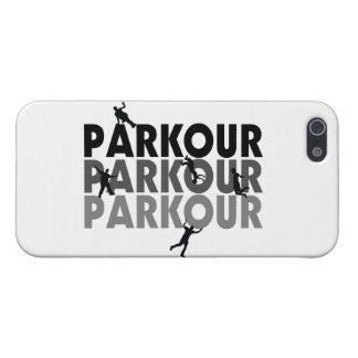 Parkour frigör spring iPhone 5 cover
