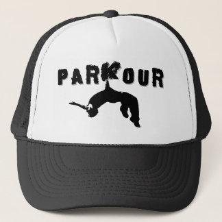 Parkour idrottsman truckerkeps