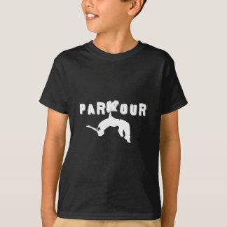 Parkour idrottsmanskjorta t shirt