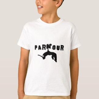 Parkour idrottsmanskjorta t-shirts