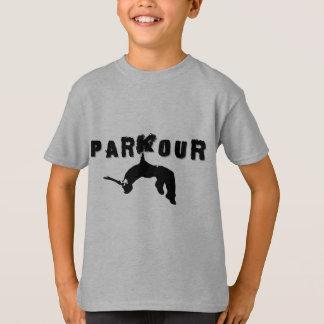 Parkour idrottsmanskjorta tee shirts