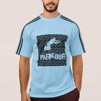 Parkour manar Adidas skjorta T Shirt