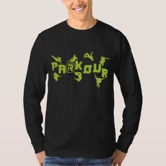 Parkour neon t shirts