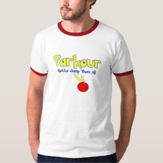 Parkour-Parodi Tee Shirts