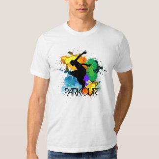 Parkour T-tröja Tee Shirts