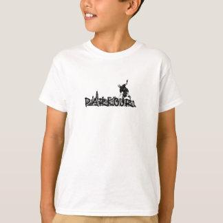 Parkour Traceur B&W stil T Shirt