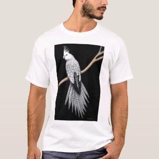 Pärlemorfärg Pied CockatielpapegojaT-tröja T Shirt
