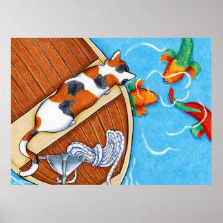 Parrotfish vid Andie Poster