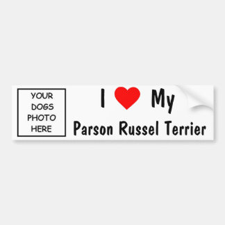 ParsonRussel Terrier Bildekal