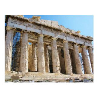 Parthenon Acropolis Athens Vykort