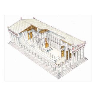 Parthenon Athens Vykort