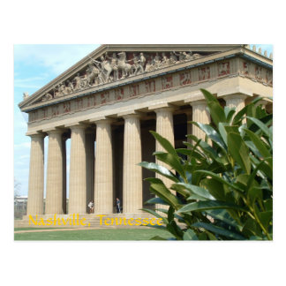 Parthenon på Nashville Vykort
