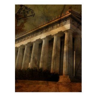 Parthenon tempel av Athena Vykort