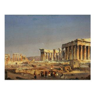 Parthenonen, 1863 vykort