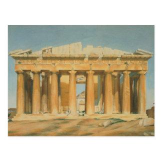 Parthenonen, Athens, 1810-37 Vykort