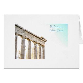 Parthenonen Hälsningskort