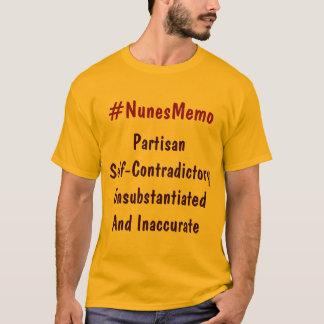 Partisan- Själv-Contraditory Unsubstan för Tshirts