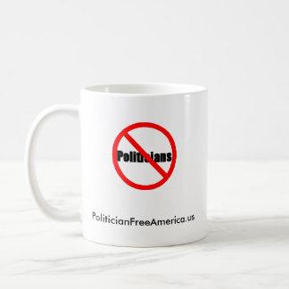 Partnerskap för en politikar frigör Amerika Kaffemugg