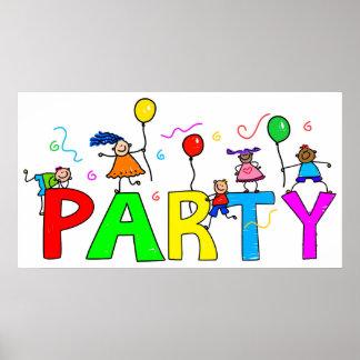 Party Affisch