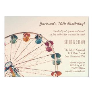 Party för barns födelsedag för 11,4 x 15,9 cm inbjudningskort