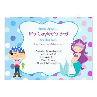 Party för barns födelsedag för 12,7 x 17,8 cm inbjudningskort