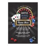 Party för inbjudan för kasinonattLas Vegas
