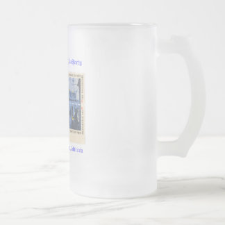 Party för statsskattdagTea Frostat Ölglas