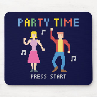 Party Time Mousepad Musmatta