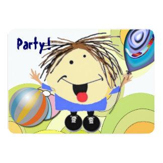 Partyflicka 12,7 X 17,8 Cm Inbjudningskort