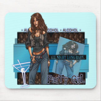 Partyflicka - Mousepad Musmatta