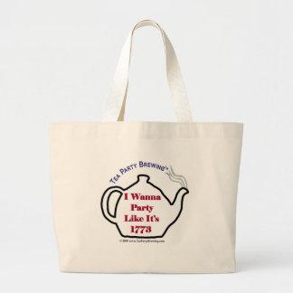 Partynågot liknande för Tea TP0102 är det 1773 hän Jumbo Tygkasse
