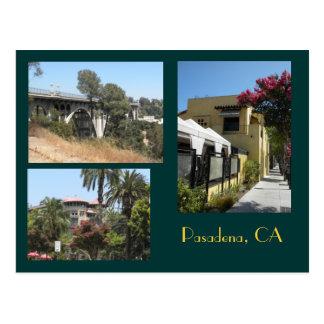 Pasadena Kalifornien fotovykort Vykort