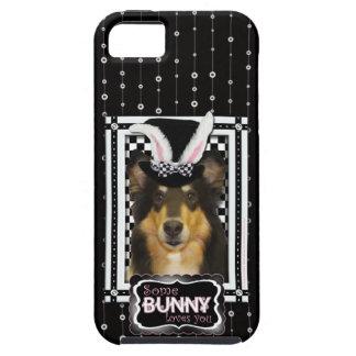 Påsk - någon kanin älskar dig - Collie Caroline iPhone 5 Skydd