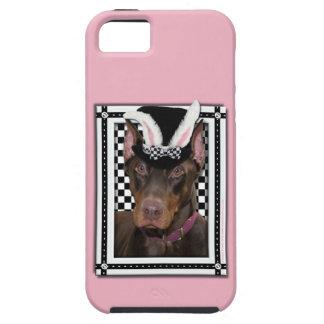 Påsk - någon kanin älskar dig - Doberman iPhone 5 Skydd
