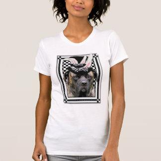 Påsk - någon kanin älskar dig - Mastiff T-shirt