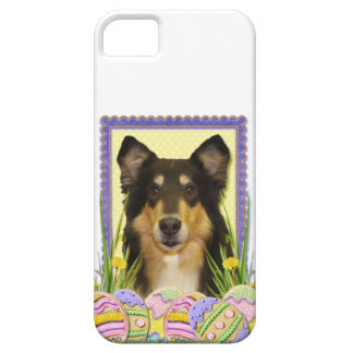 Påskäggkakor - Collie iPhone 5 Case-Mate Fodral