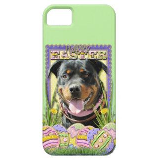Påskäggkakor - Rottweiler iPhone 5 Case-Mate Cases