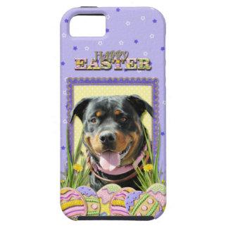 Påskäggkakor - Rottweiler iPhone 5 Case-Mate Fodraler