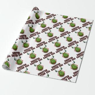påskäggskytt, rolig desgin för påskhjortgåva presentpapper
