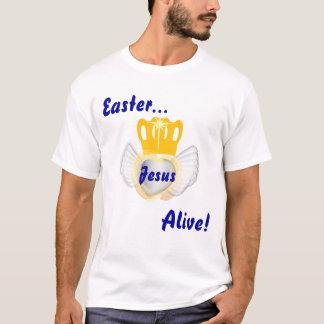 Påsken Jesus är vid liv! - Skräddarsy T-shirt