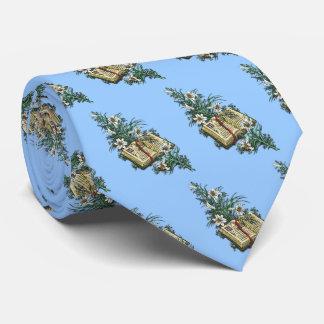 Påskliljar och helig bibel slips