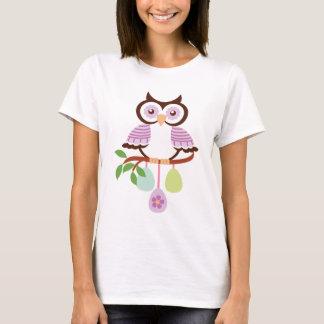 Påskugglakvinna t-skjorta t-shirt