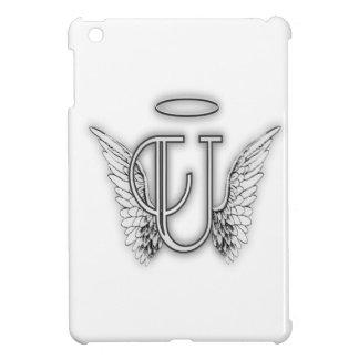 Påskyndar det initiala brev för ängelalfabet U iPad Mini Skal